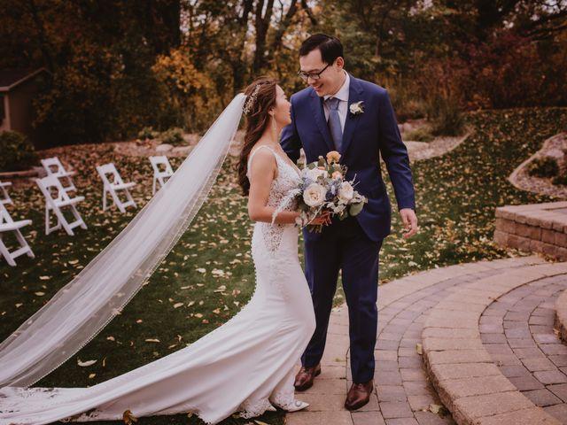 Dinghua and Yixiu's wedding in Starbuck, Manitoba 51