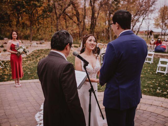 Dinghua and Yixiu's wedding in Starbuck, Manitoba 53