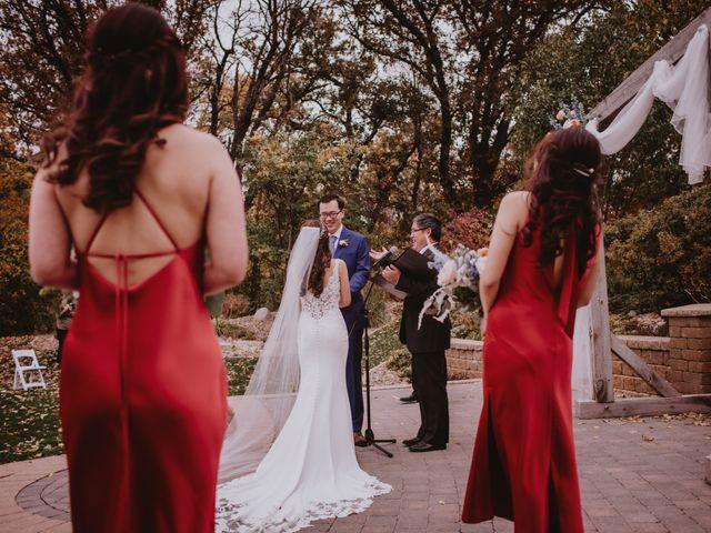 Dinghua and Yixiu's wedding in Starbuck, Manitoba 55
