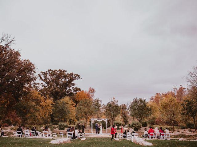 Dinghua and Yixiu's wedding in Starbuck, Manitoba 1