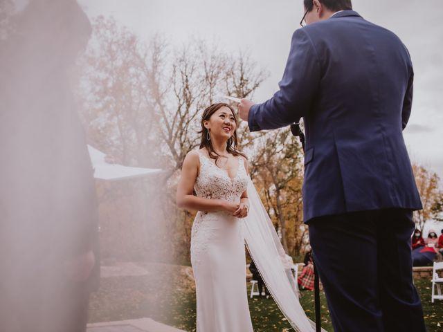 Dinghua and Yixiu's wedding in Starbuck, Manitoba 62