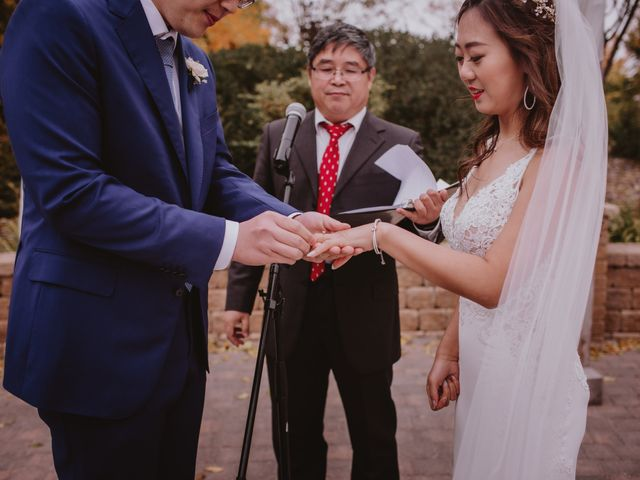 Dinghua and Yixiu's wedding in Starbuck, Manitoba 63