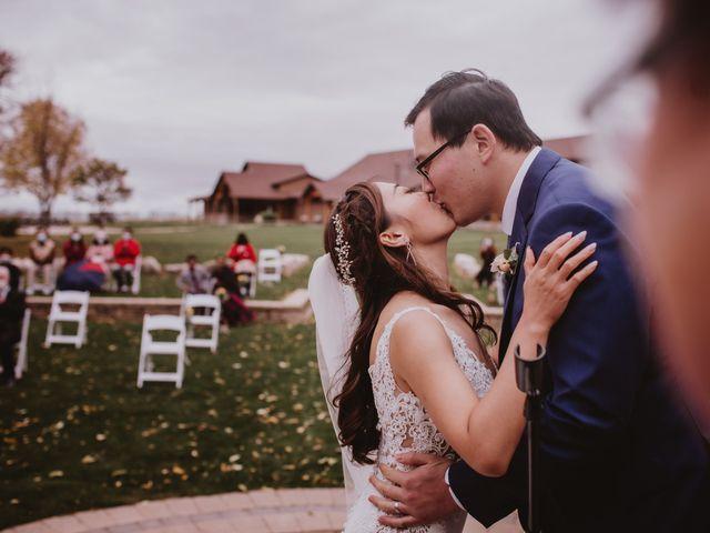 Dinghua and Yixiu's wedding in Starbuck, Manitoba 64