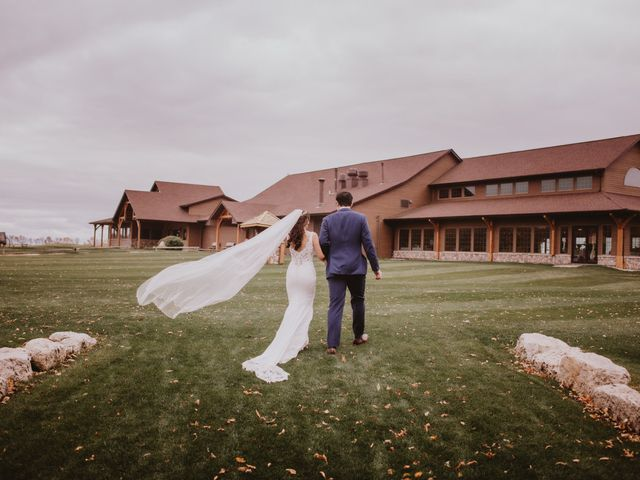 Dinghua and Yixiu's wedding in Starbuck, Manitoba 67