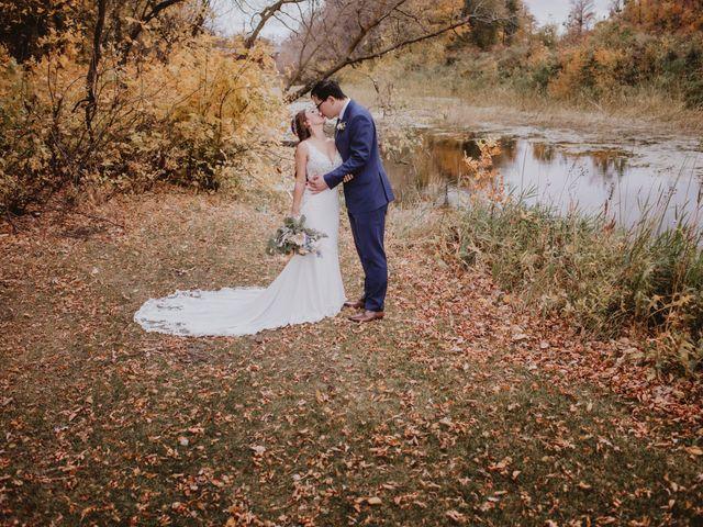 Dinghua and Yixiu's wedding in Starbuck, Manitoba 83