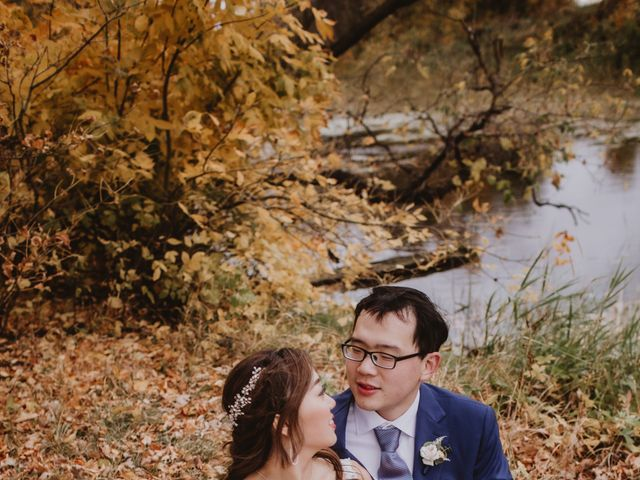 Dinghua and Yixiu's wedding in Starbuck, Manitoba 84