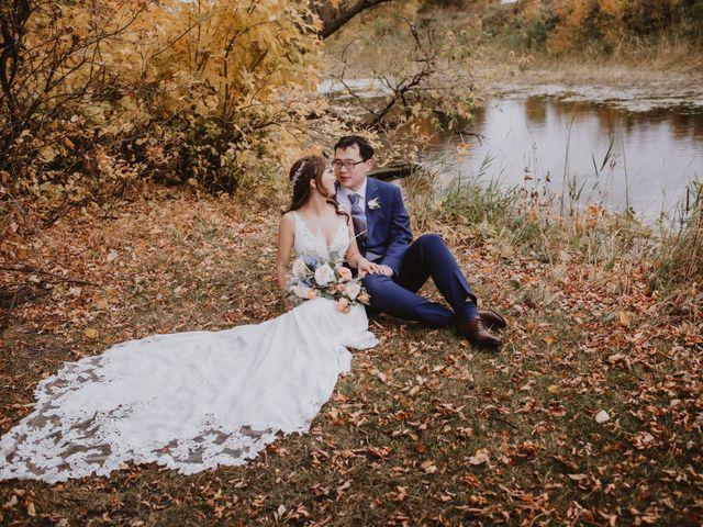 Dinghua and Yixiu's wedding in Starbuck, Manitoba 85