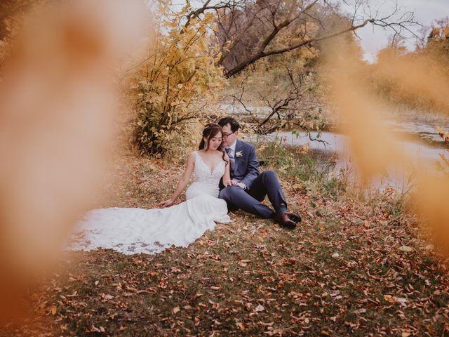 Dinghua and Yixiu's wedding in Starbuck, Manitoba 2