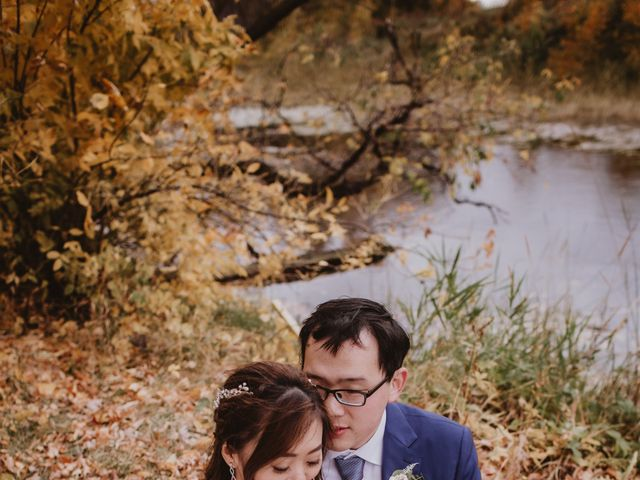 Dinghua and Yixiu's wedding in Starbuck, Manitoba 87