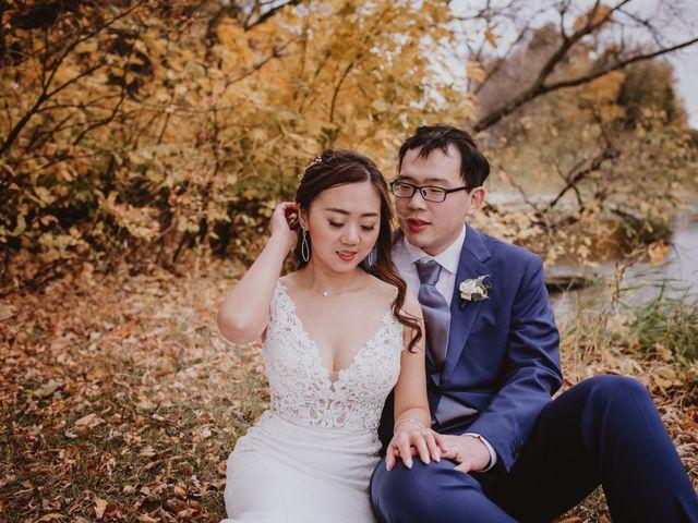 Dinghua and Yixiu's wedding in Starbuck, Manitoba 89