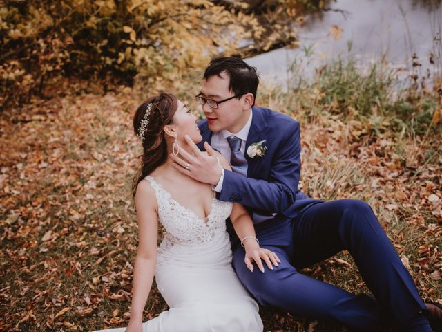 Dinghua and Yixiu's wedding in Starbuck, Manitoba 90