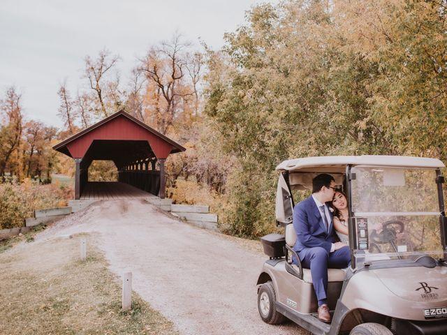 Dinghua and Yixiu's wedding in Starbuck, Manitoba 93