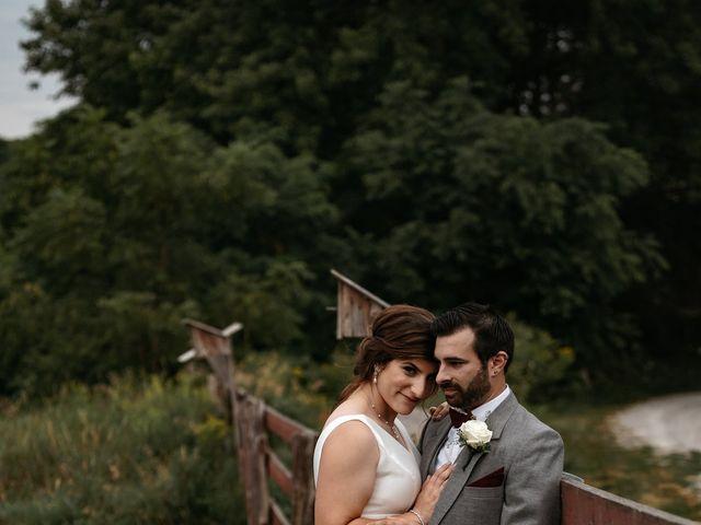 The wedding of Christina and Adam