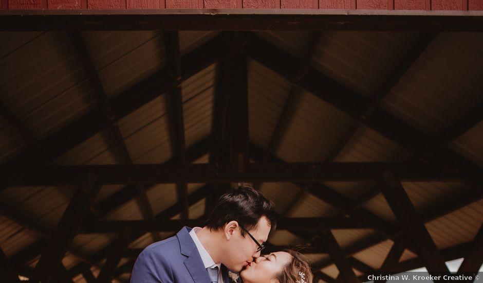 Dinghua and Yixiu's wedding in Starbuck, Manitoba