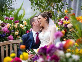 The wedding of Crystal and Nathan