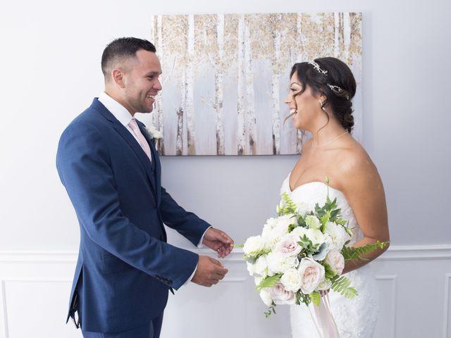 German and Melissa's wedding in Caledon, Ontario 34