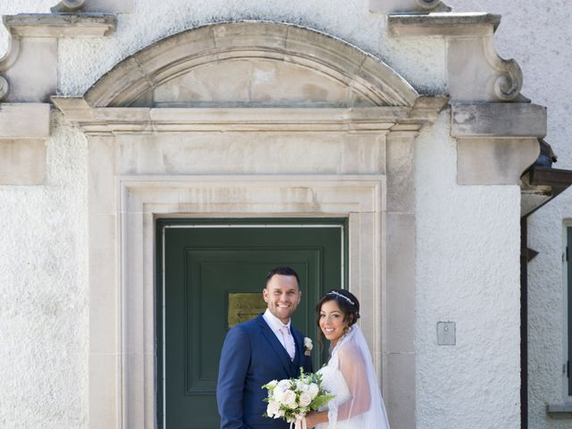 German and Melissa's wedding in Caledon, Ontario 40