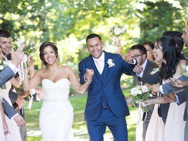 German and Melissa's wedding in Caledon, Ontario 2