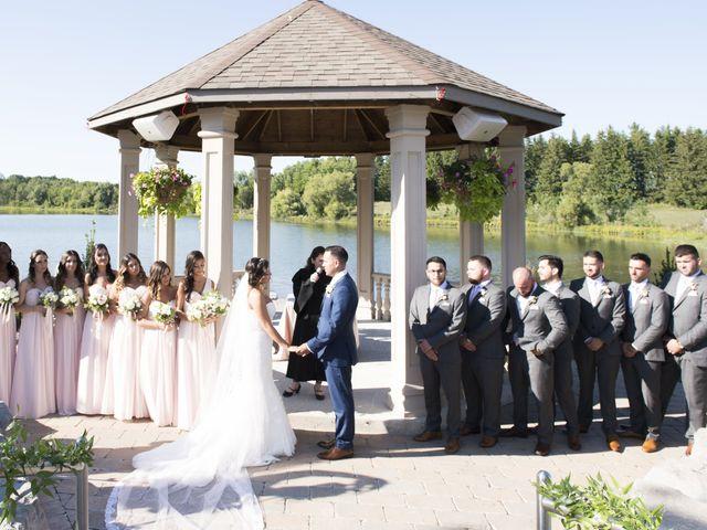 German and Melissa's wedding in Caledon, Ontario 60