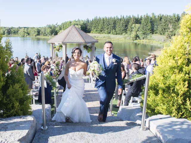 German and Melissa's wedding in Caledon, Ontario 66