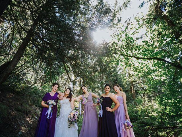 Matt and Yianna's wedding in Belcarra, British Columbia 11