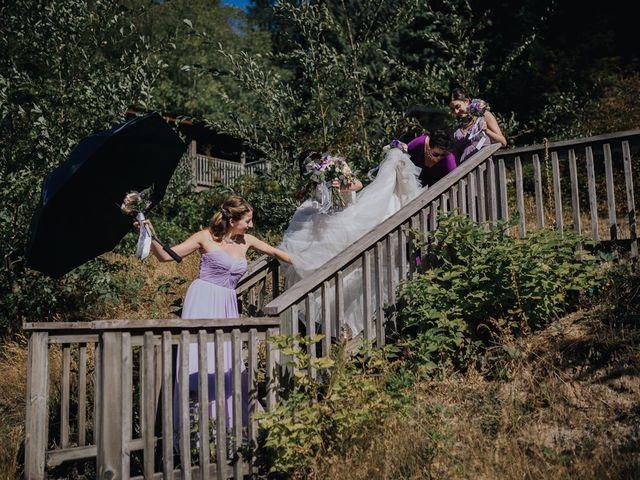 Matt and Yianna's wedding in Belcarra, British Columbia 16