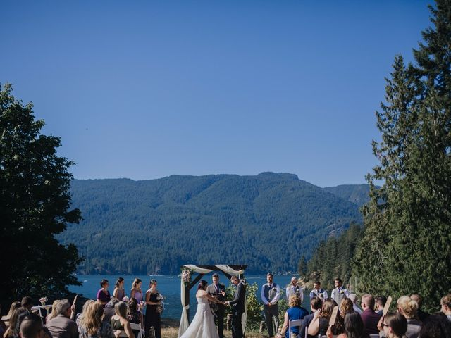 Matt and Yianna's wedding in Belcarra, British Columbia 17