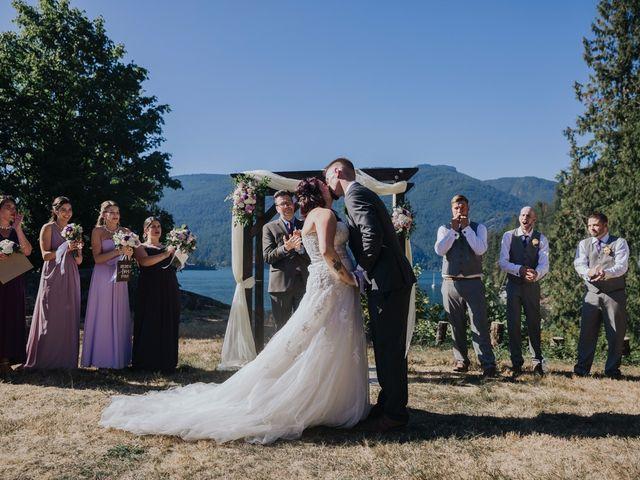 Matt and Yianna's wedding in Belcarra, British Columbia 18
