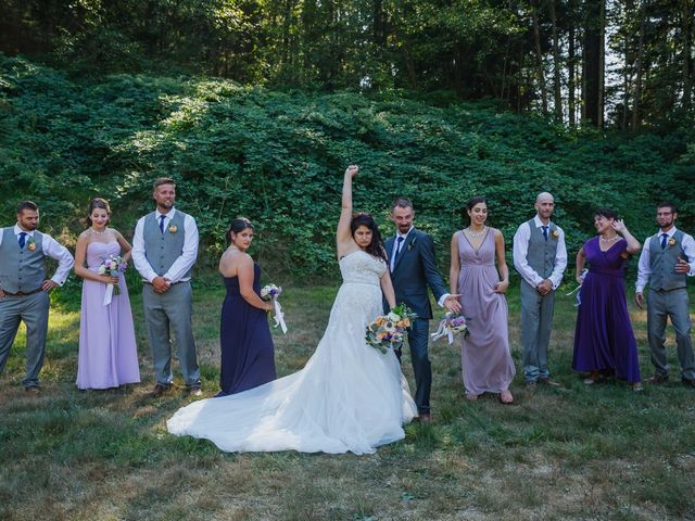 Matt and Yianna's wedding in Belcarra, British Columbia 20