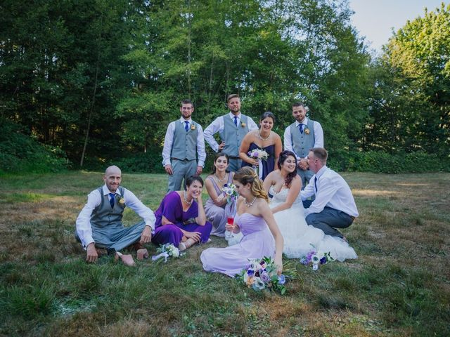 Matt and Yianna's wedding in Belcarra, British Columbia 21