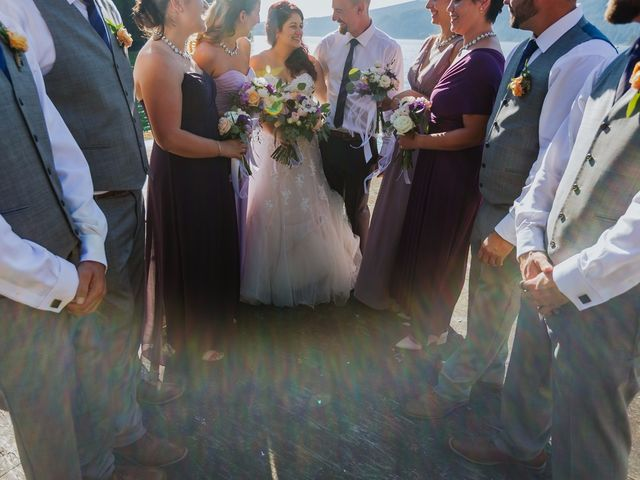 Matt and Yianna's wedding in Belcarra, British Columbia 22