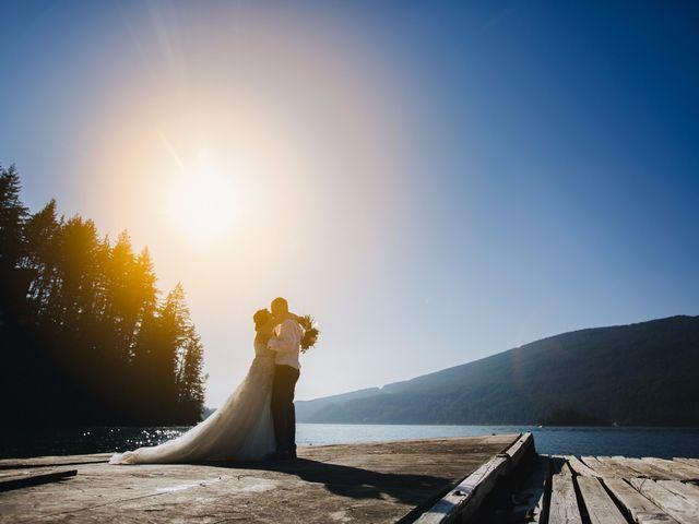 Matt and Yianna's wedding in Belcarra, British Columbia 34