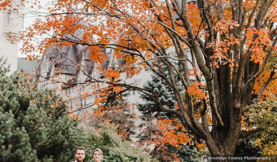 Tanner and Emily's wedding in Ottawa, Ontario