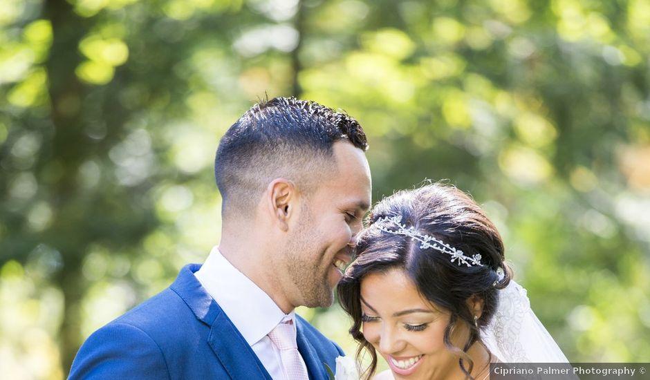 German and Melissa's wedding in Caledon, Ontario