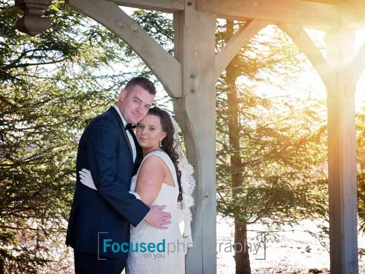 The wedding of Jenna and Andrew