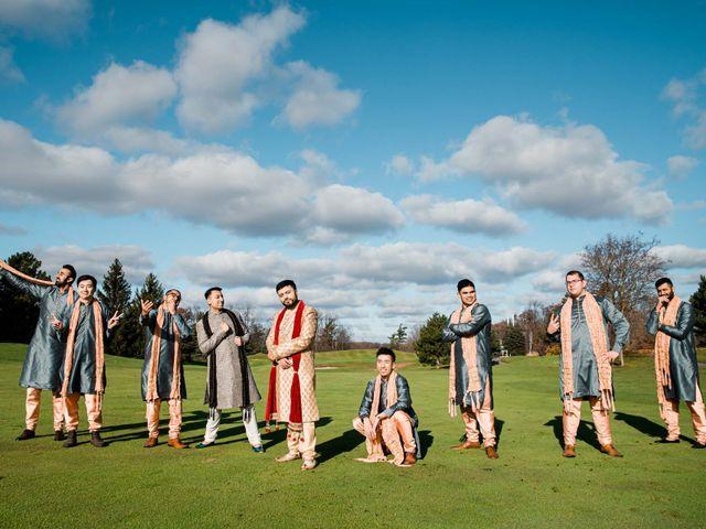 Kinshuk and Ashish's wedding in Brampton, Ontario 12