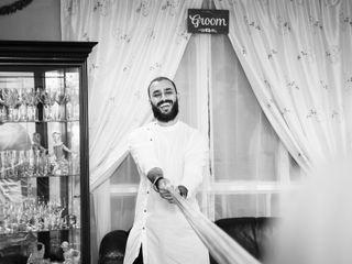 The wedding of Sahil and Tina 2