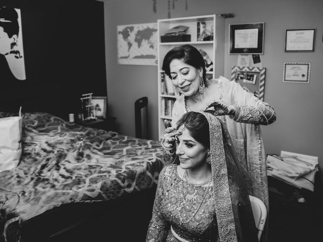 Tina and Sahil's wedding in Toronto, Ontario 8