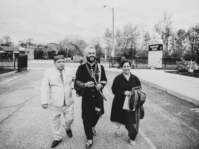 Tina and Sahil's wedding in Toronto, Ontario 10