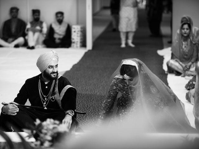 Tina and Sahil's wedding in Toronto, Ontario 12