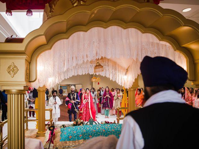 Tina and Sahil's wedding in Toronto, Ontario 14