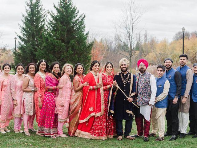 Tina and Sahil's wedding in Toronto, Ontario 15