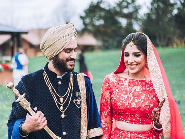 Tina and Sahil's wedding in Toronto, Ontario 16
