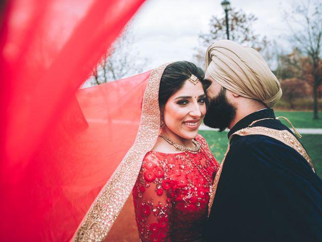 Tina and Sahil's wedding in Toronto, Ontario 2