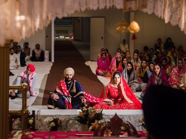 Tina and Sahil's wedding in Toronto, Ontario 17
