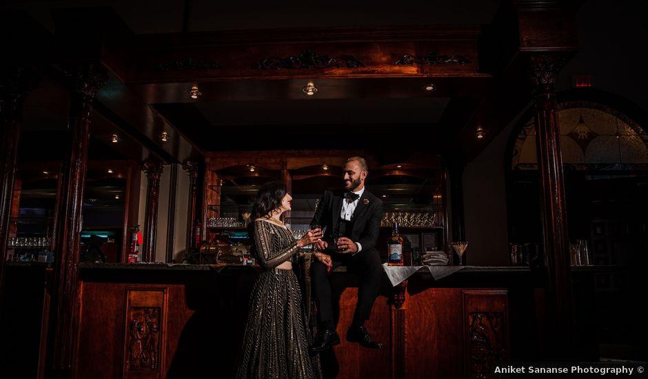 Tina and Sahil's wedding in Toronto, Ontario