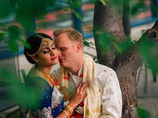 The wedding of Shohini and Chad