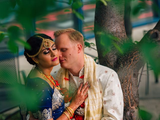 The wedding of Shohini and Chad