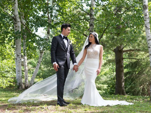 The wedding of Christine and Tyler