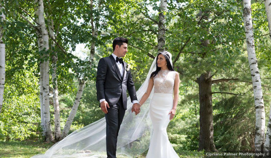 Tyler and Christine's wedding in Toronto, Ontario